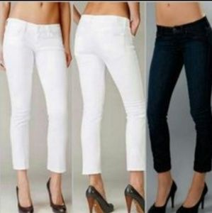 7 for all mankind Eddie Flood ankle/cropped jeans
